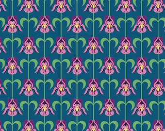 1 Fat Eighth of Tennessee Deco State by Tiffany Lerman of In The Beginning Fabrics
