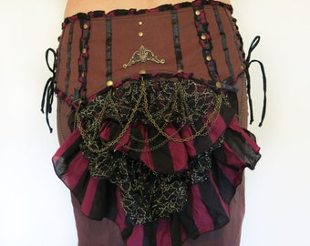 Victorian Bustle Belt - festival clothing