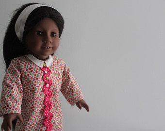 1960s Shift Dress/for 18'' Dolls