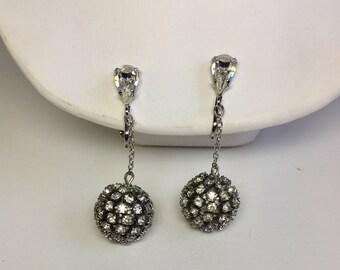 Vintage Disco Ball Earrings