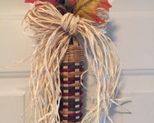 SALE - Save 20% - Handwoven Indian Corn from Basket Reed
