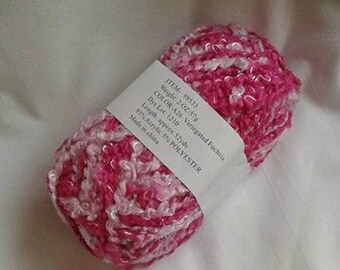 Pink Color Combo Yarn