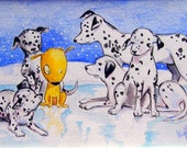 """Art Print - """"Canis Conspicuous"""""""