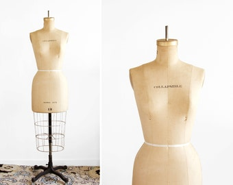 Vintage Dress Form - Collapsible Womens Model 1971 Size 12