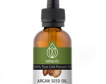 100 percent  Pure Organic Argan oil -Skin, Hair, Anti-aging 2oz / 60