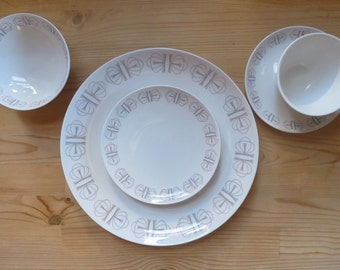 Vintage Franciscan Merry Go Round - 5 Piece Place Setting