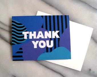 THANK YOU card - blank inside