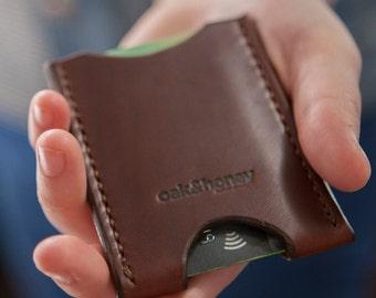 Full Grain Leather Cardholder