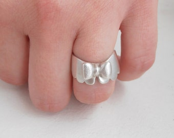 Girly Collar - sterling silver ring