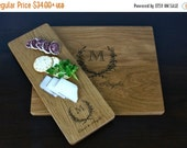 10% OFF THRU FEB Personalized Cutting Board Engraved Custom - Wood Cutting Board -    Wedding Gift, Housewarming Gift, Anniversary Gift - Pe