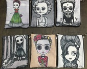 Artwork Zipper Pouch by Lupe Flores