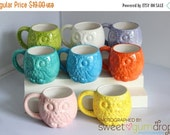On Sale Owl Mug Handmade Ceramic from my Charleston, SC Studio