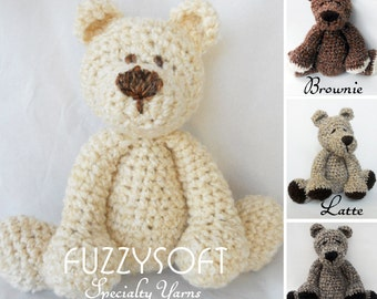 Crochet Fuzzy Bear SUPER SOFT