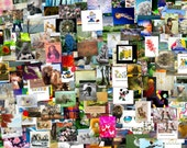 50 note cards / thank you cards / gift for you cards ... this is not a digital download