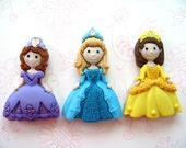 Thre  Princess Thumbtack , Gile Room Push Pin, Gril Princess Notice Board Pins, Girl's Room Decoration
