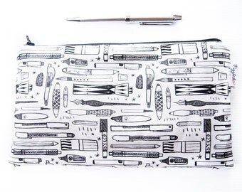 Color-It-In Pencil Case (Pens and Pencils)