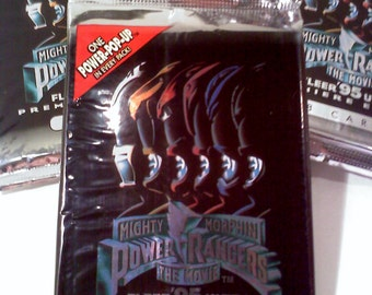 Power Rangers The Movie Trading Cards