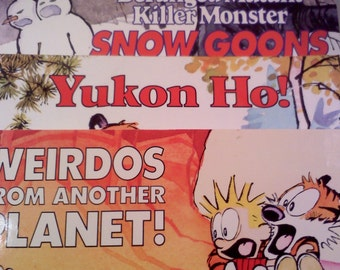Calvin and Hobbes Books, Set of 3