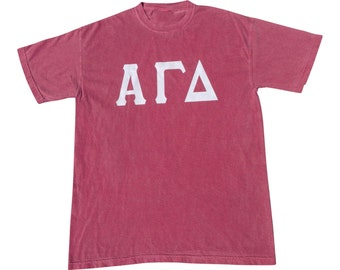 Custom sorority fraternity sewn letter jersey for Custom greek letter t shirts