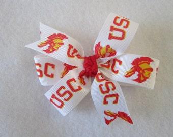 USC California hair bow