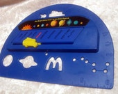McDonald's Happy Meal Magic School Bus Vintage Collectible Toy - Educational Ruler & Planets