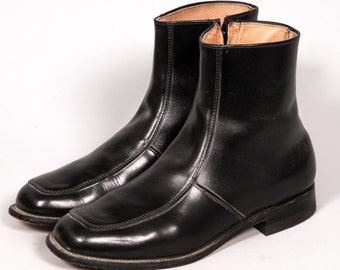 Black Beatle Boots Men's Size 10 D