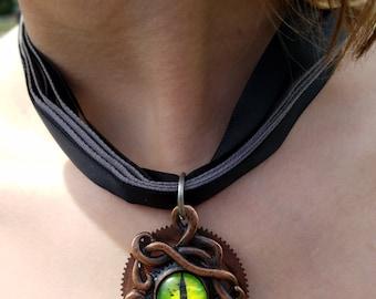 Cthulhu necklace