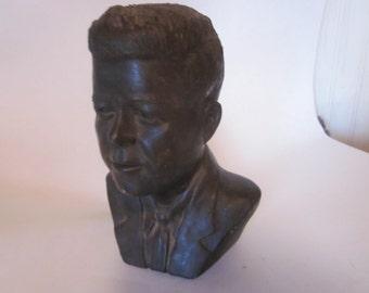 1963 bust of  JFK  signed horvat .