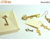 MOVING SALE Half Off Lot of   Vintage Salvaged Lock and Keys  Jewelry Pieces