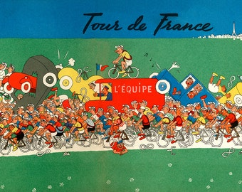 Tour De France Bicycle Poster (#1805) 4 sizes