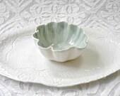White Pottery Platter, minimalist ceramic, ceramic bowl, Chip Dip, Organic pottery, White platter, Textured platter, Stamped Ceramic Platter