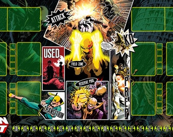 Iron Fist Dice Masters Play Mat