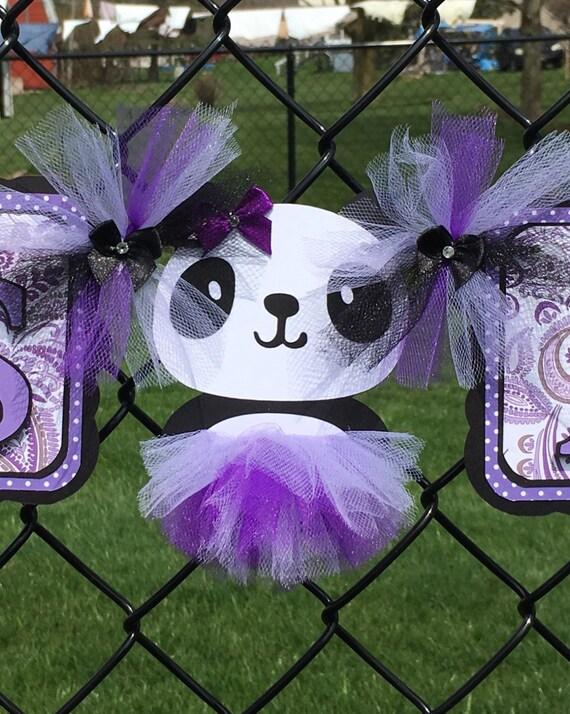 panda baby shower panda decorations panda banner baby shower banner