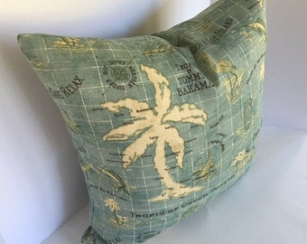 Tommy Bahama Island Song Surf Indoor/Outdoor Nautical Decorative Pillow Cover
