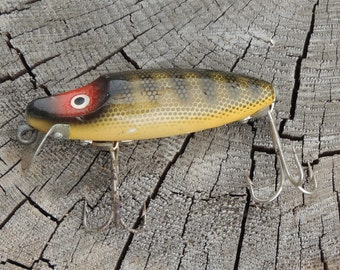 Vintage DAM Fishing Lure, Fishing Collectible, Germany, Vintage Lure, Cabin Decor, Fishing Memorabilia