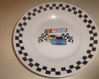 lot 4 vintage gibson nascar salad plate racing
