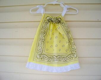 Baby Bandana Dress   6-12 mo.