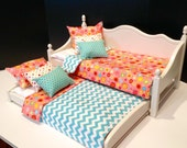 Hello Sunshine  daybed with trundle for the 18 in American Girl Doll