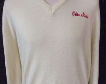 Vintage Ohio State University Buckeyes Sweater USA XXL