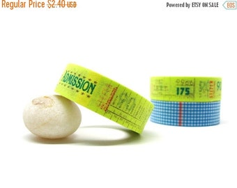 Admission Ticket Masking Tape (Green, Brown, Red) 15mm x 10m Shipping End of July 2016