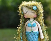 Crochet pattern - Mermaid Francesca by VendulkaM - amigurumi/ crochet toy, digital pattern, DIY, pdf