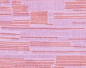 Carkai Stitches in Petunia, Carolyn Friedlander, Robert Kaufman Fabrics, 100% Cotton Fabric, AFR-15796-26 PETUNIA