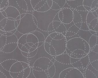 Modern Background Ink XOXO in Graphite, Brigitte Heitland, Zen Chic, Moda Fabrics, 100% Cotton Fabric, 1584 21