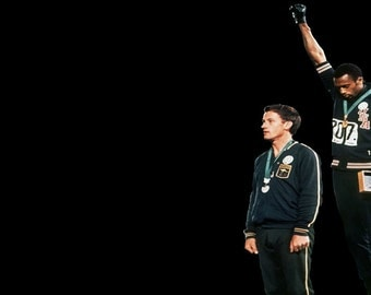 Tommie Smith and John Carlos, 1968 Olympics, Small
