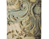 Rococo Wall Tapestry. Blue Lace Versailles. Tapestry Wall Hanging Fabric. Dorm Décor. Decorative Wall Décor. Wall Hanging. Oversize Art.