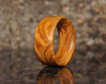 Size 8 - Olive Wood Ring