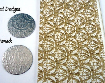 Laser Cut Texture Paper - Rolling Mill Pattern - Damask