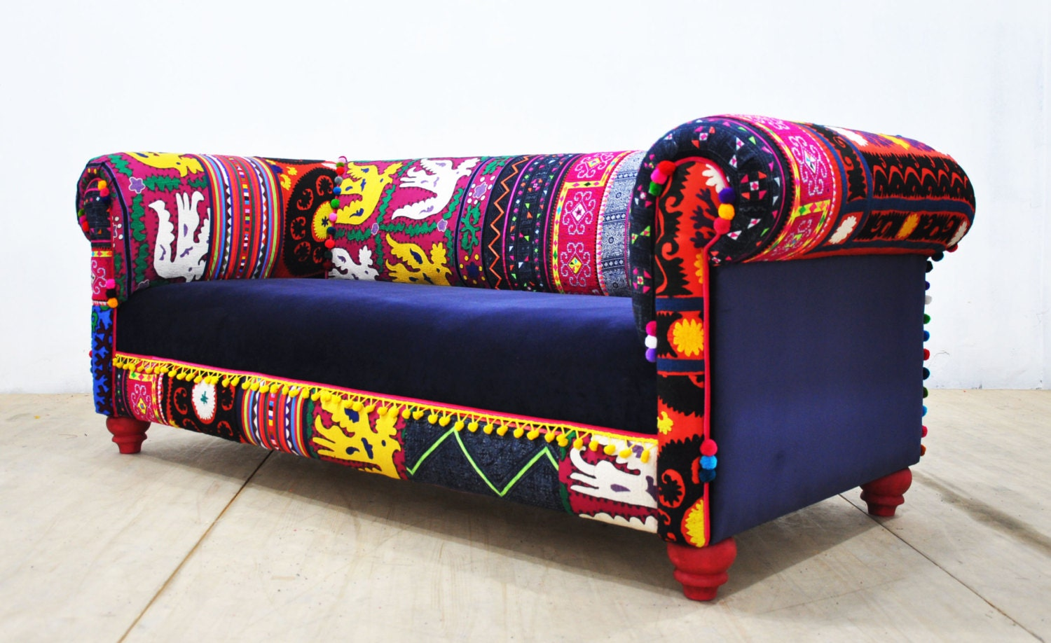 Bohemian sofa for Sofa patchwork