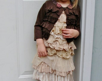 made to order holiday cardigan clothes sweater dress custom child send me clothes toddler holiday christmas gift boho rustic winter fashion