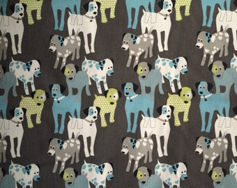 Premier Prints Woof Woof Macon Mantis Cotton Duck Fabric by the yard